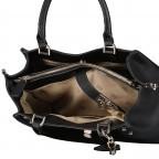 Handtasche Albury Black, Farbe: schwarz, Marke: Guess, EAN: 0190231486022, Abmessungen in cm: 29.0x21.0x10.0, Bild 8 von 8