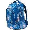 Rucksack Pack Summer Soul, Farbe: blau/petrol, Marke: Satch, EAN: 4057081102402, Abmessungen in cm: 30.0x45.0x22.0, Bild 2 von 13